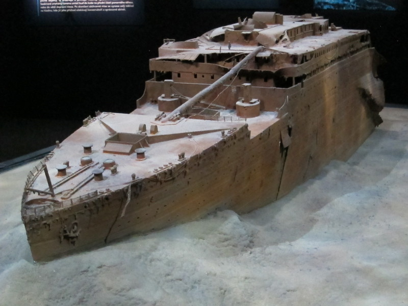 Model vraku lodi