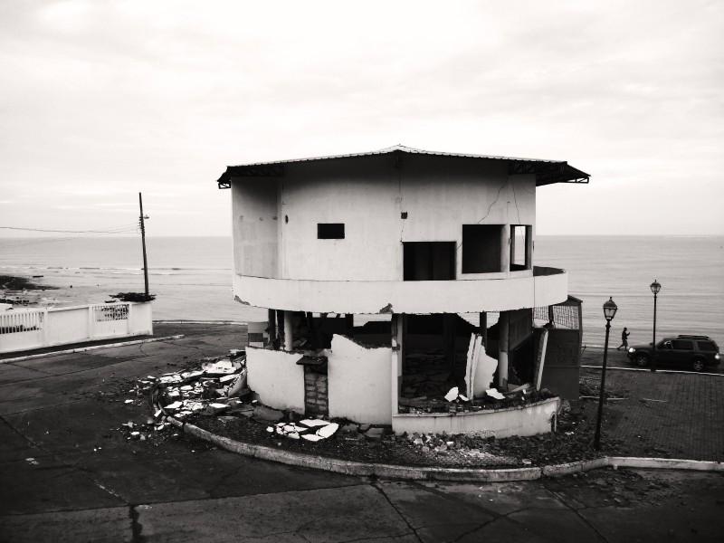 Naše čtvrť San Roque, Bahía de Caráquez, Ekvádor.