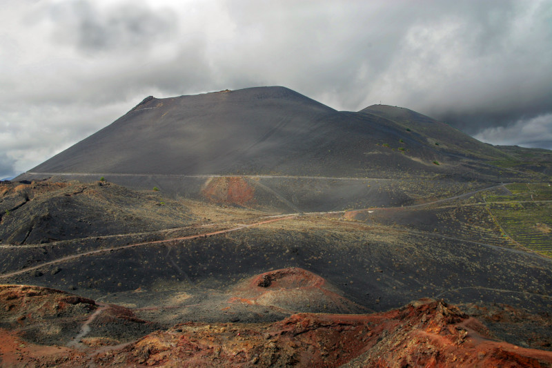 Vulkán San Antonio, ostrov La Palma, Kanárské ostrovy