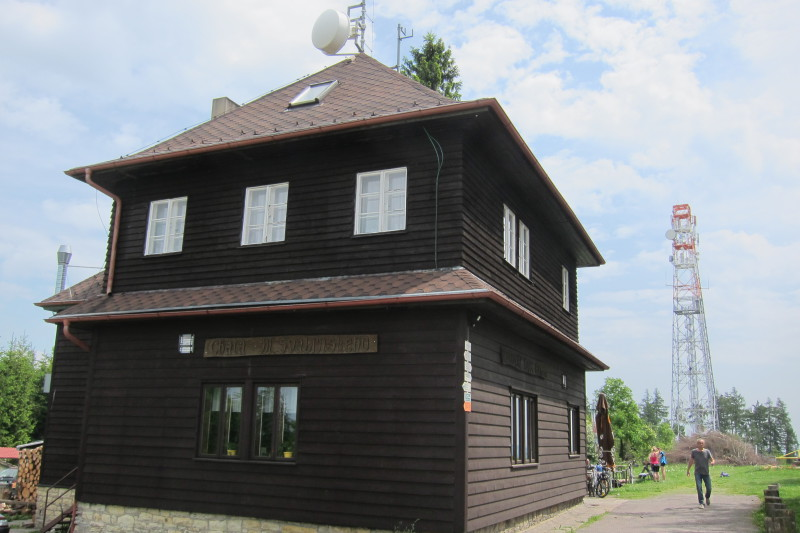 Turistická chata na Kozlovském kopci