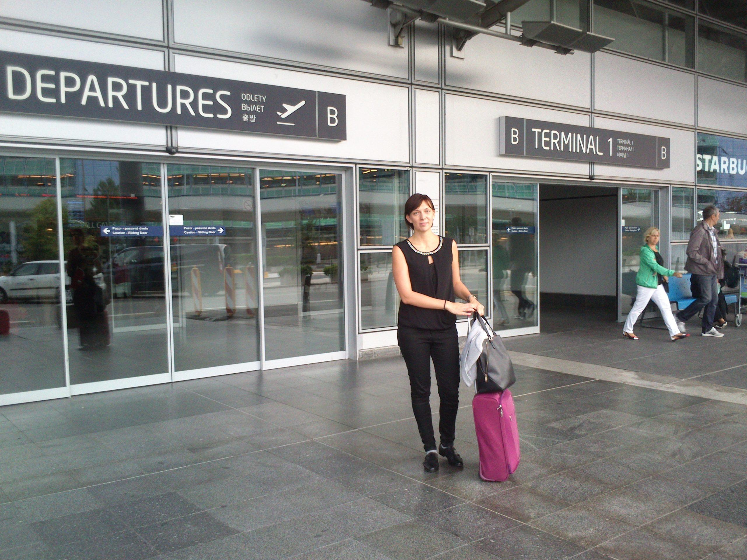 Na letišti