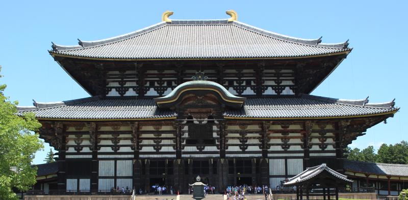 Největší dřevěná stavba světa, chrám Todai-ji Nara