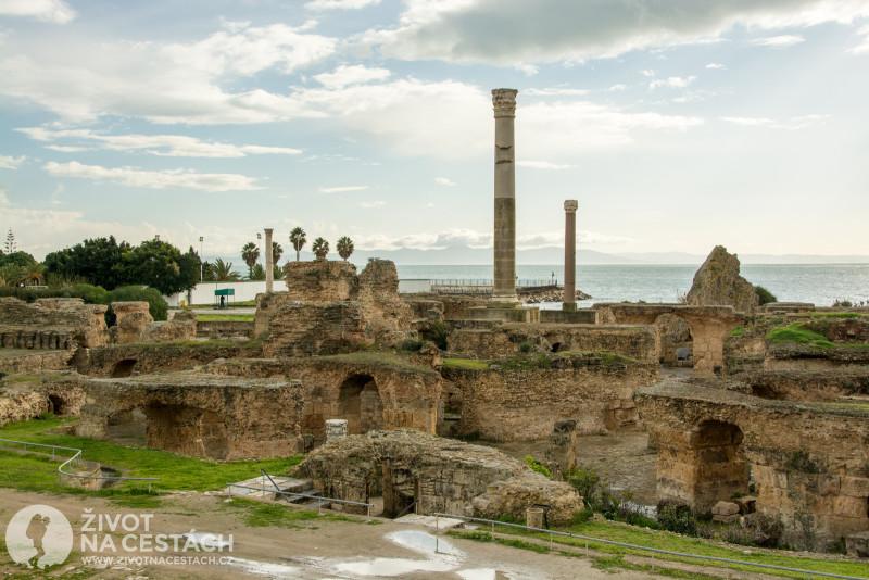 Fotoreport z cesty napříč Tuniskem – Navštívili jsme i pozůstatky Kartága.