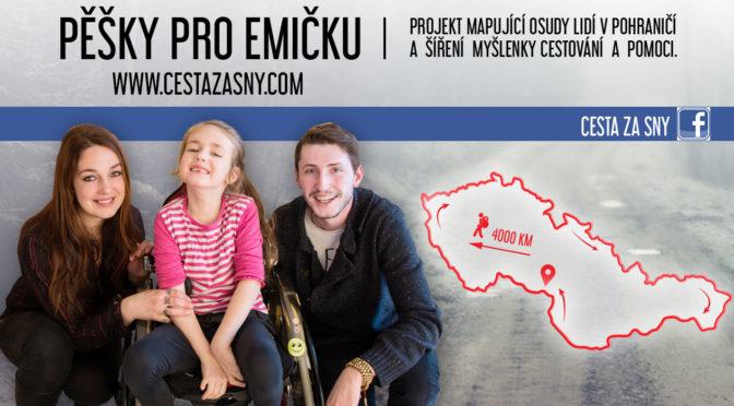 Pěšky pro Emičku aneb 4 000 km po hranicích Československa