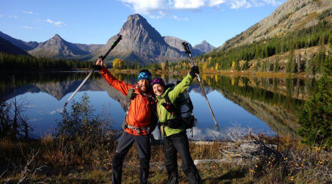 Petr a Olga Koskovi: Glacier Park jezero