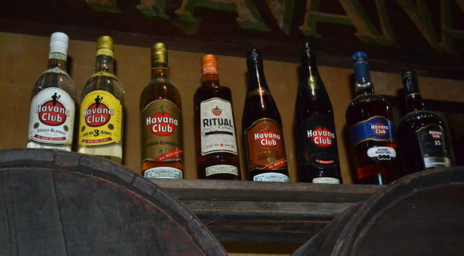 Moje cesta Kubou – 6. část (Muzeum rumu a oblíbená místa Ernesta Hemingwaye)