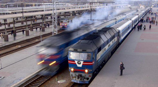 Vlakový průvodce Ukrajinou