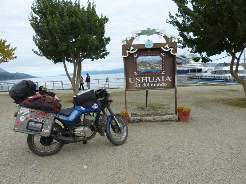 Na Jawě napříč Jižní Amerikou –Až na konec světa! Fin del Mundo – Konec světa, Patagonie