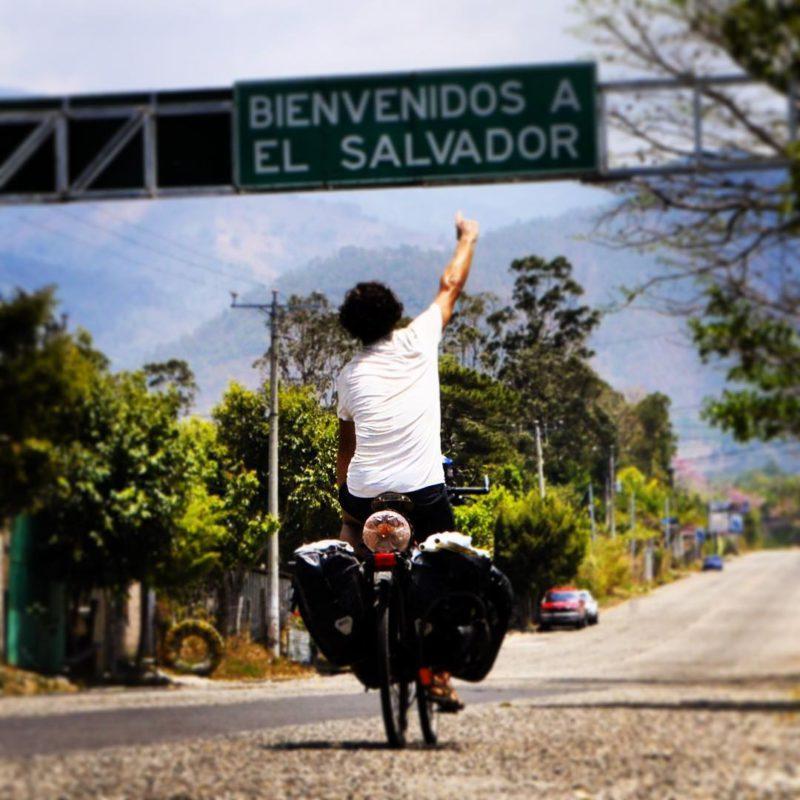 Přejezd do El Salvadoru –mé 23. navštívené země na mé cestě.