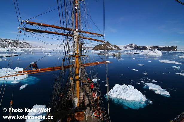 Z expedice na plachetnici