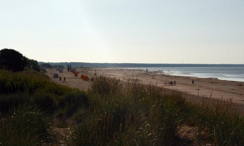 Pláž v Pärnu