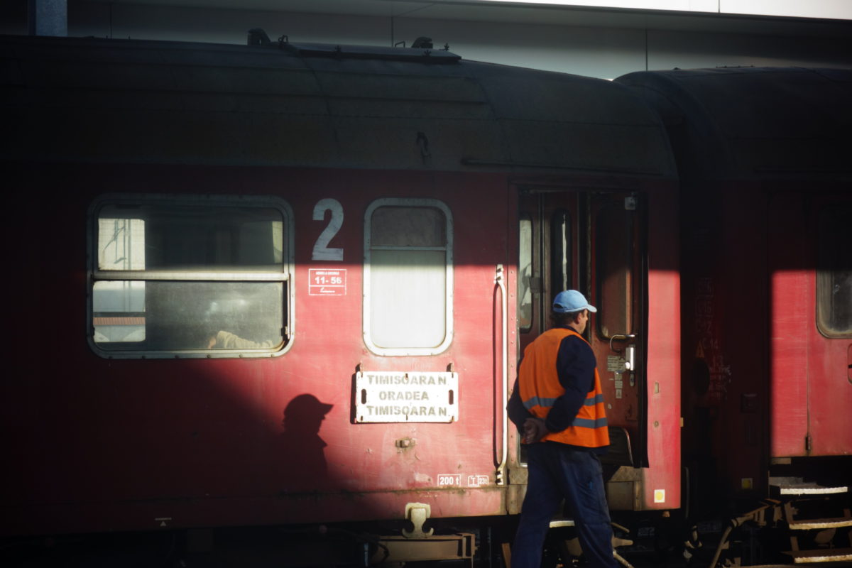 rumunský vlak