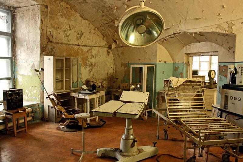 Operační sál věznice Patarei