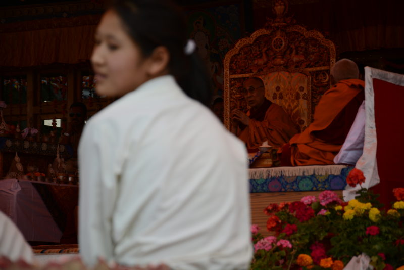 Dalajláma na púdže