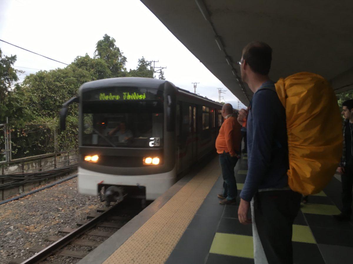Metro v Tbilisi - stanice Didube
