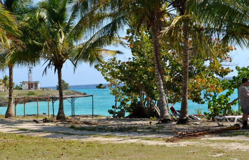 Pláž u Karibiku