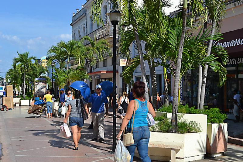Cienfuegos – pěší zóna
