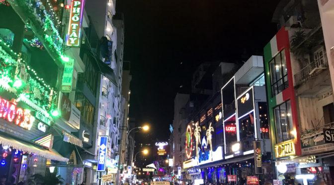 Vánoce v Asii: 04. Saigonský noční život