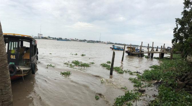 Vánoce v Asii: 05. Neturisti na výletě k deltě řeky Mekong