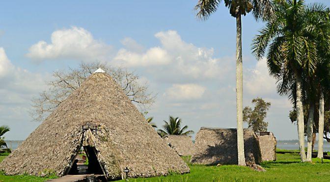 Indiánská vesnice Guamá aneb Zklamání v Zátoce sviní, Kuba