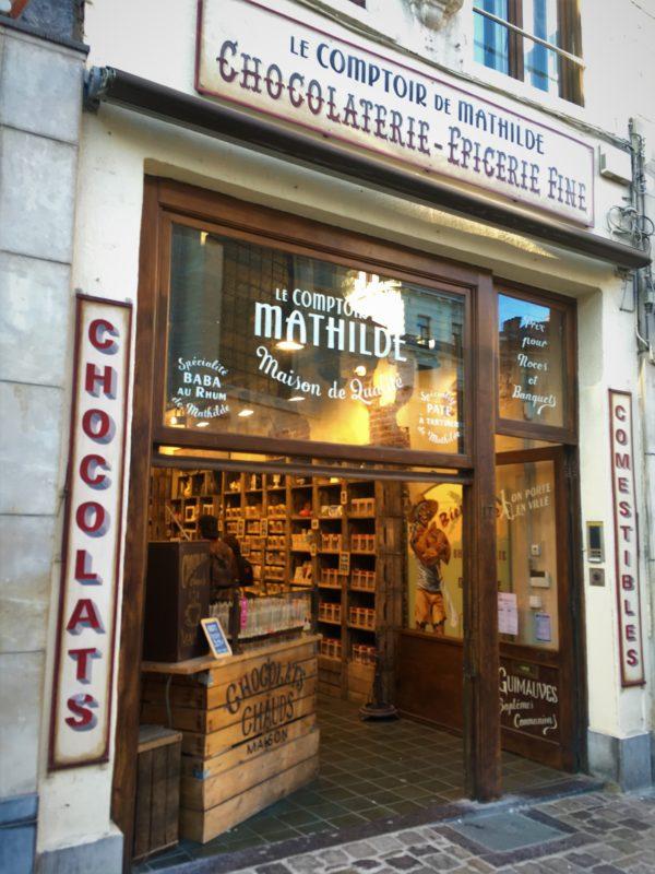 Jedna z bruselských čokoládoven