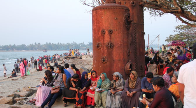 Pobřežní město Kochi v jižní Indii
