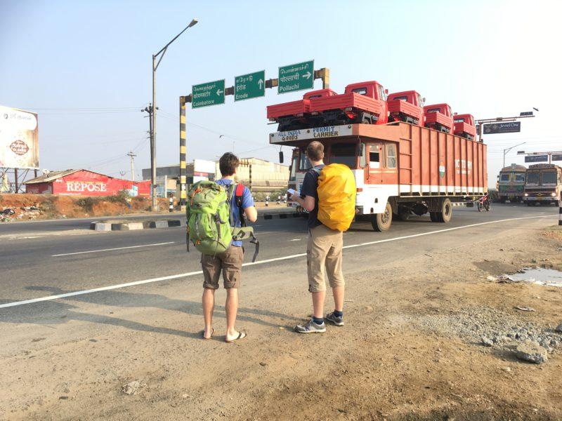 Na výpadovce za Coimbatore – směr Kochi