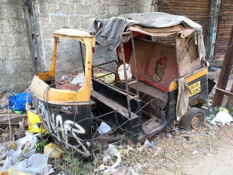 Vysloužilá rikša
