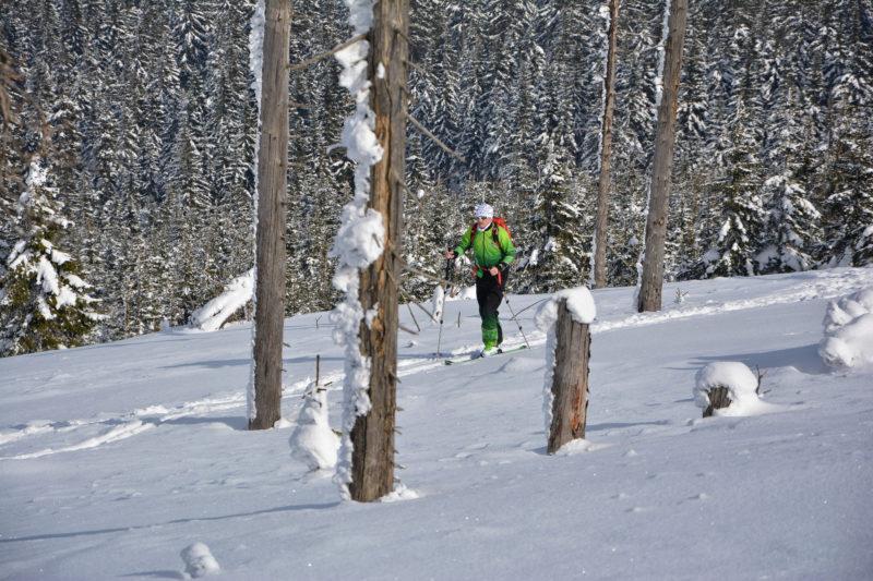 Backcountry túra na Králickém Sněžníku