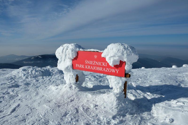 Na vrcholu Králického Sněžníku