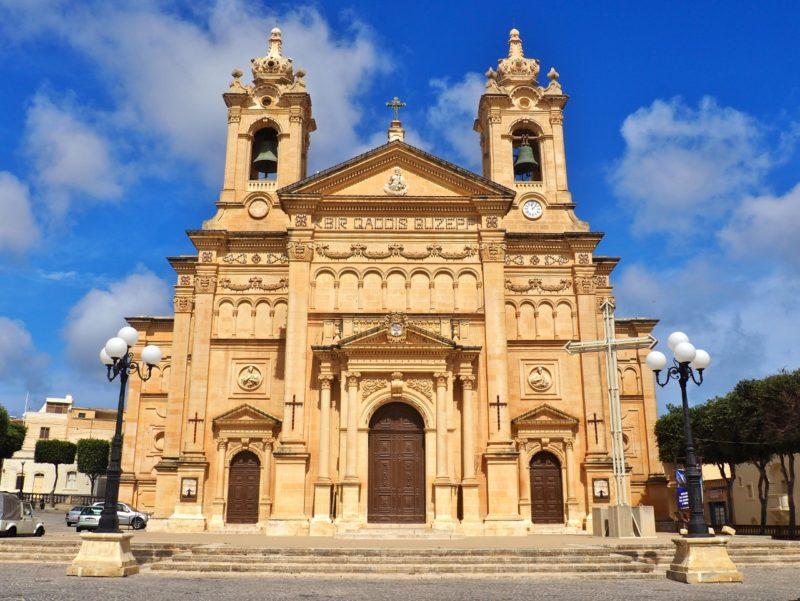 Chrám svatého Josefa, Qala, Gozo.
