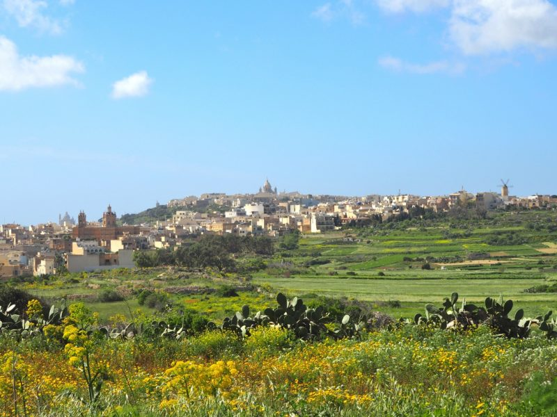 Pohled na Gozo z východního pobřeží. Zbytek ostrova vypadá dost podobně ;-)