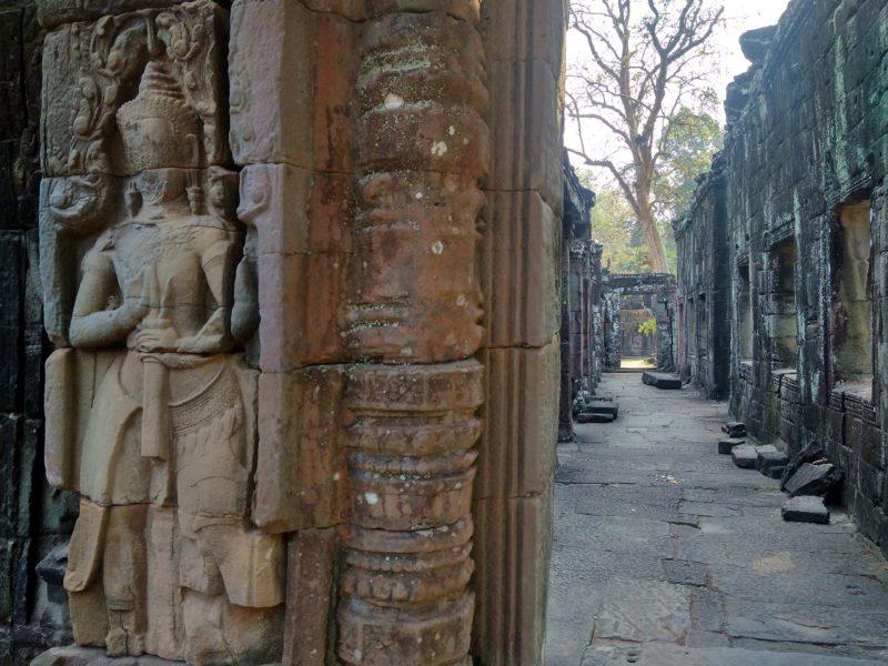 Chrám na Velkém okruhu Preah Khan