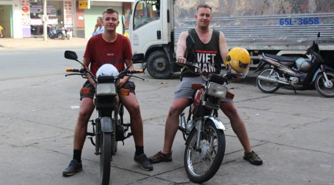 Vietnam na motorkách