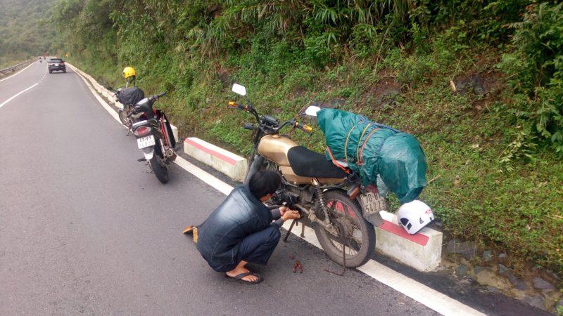 Oprava na cestě