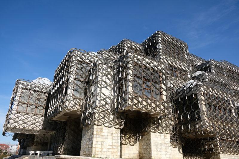 Národní knihovna, Priština