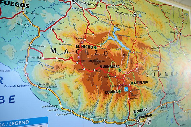 NP Topes de Collantes, oblast Guanayara