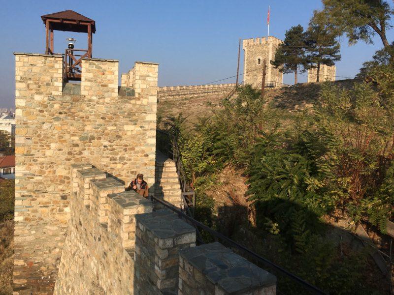 Na pevnosti Kale, Skopje