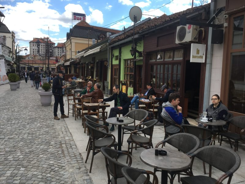 Tinkers Alley – Kazandžijsko Sokače – nejzachovalejší ulička v centru