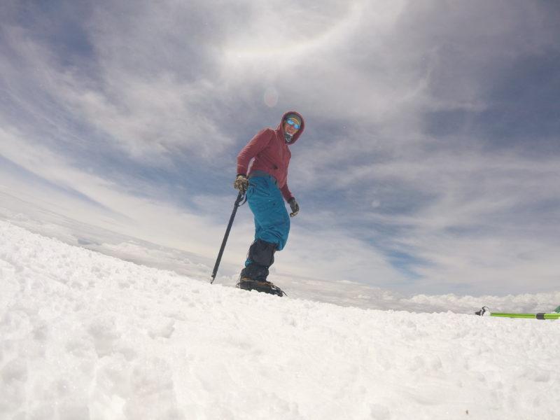 Z vrcholu Elbrusu