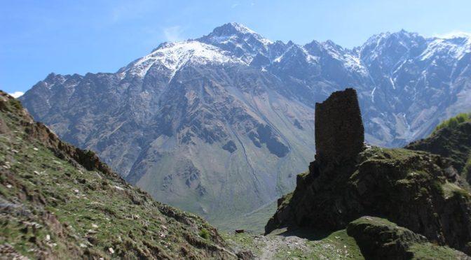Cestování po Gruzii a výstup na horu Elbrus