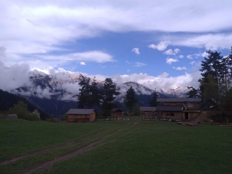 Na treku v oblasti Svaneti