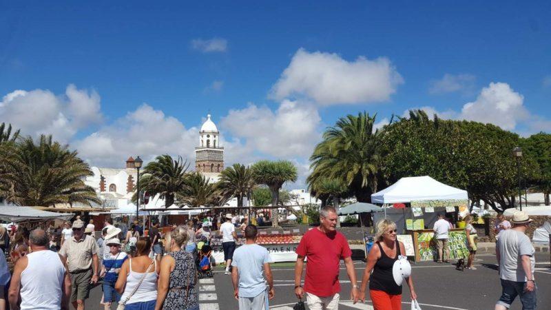 I na Lanzarote se žije normální městský život.