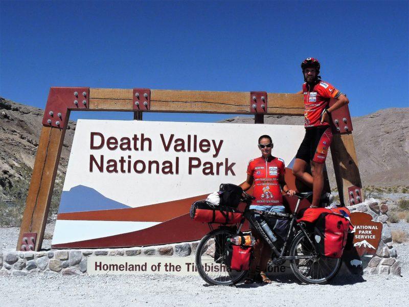 Martin Stiller s manželkou na cykloexpedici v USA