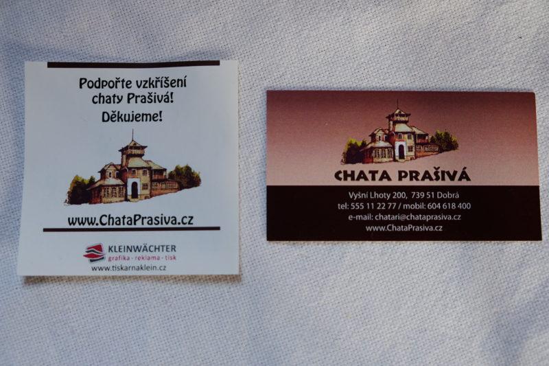 Podrobné informace najdete na webu www.chataprasiva.cz