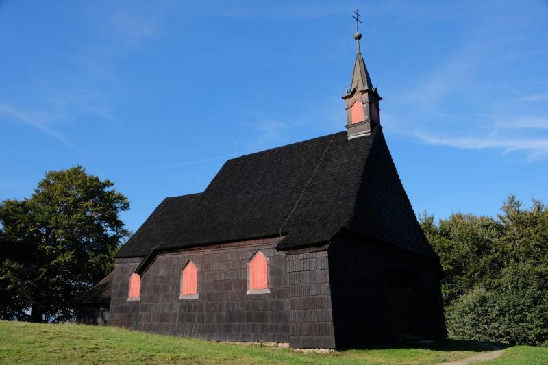 Kostel sv. Antonína Paduánského z roku 1640