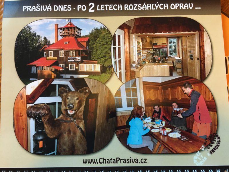 Stav po 2 letech rekonstrukce – včetně medvědice, symbolu chaty