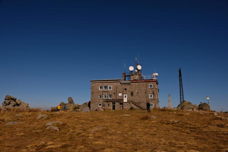 Na vrcholu Černi vrch
