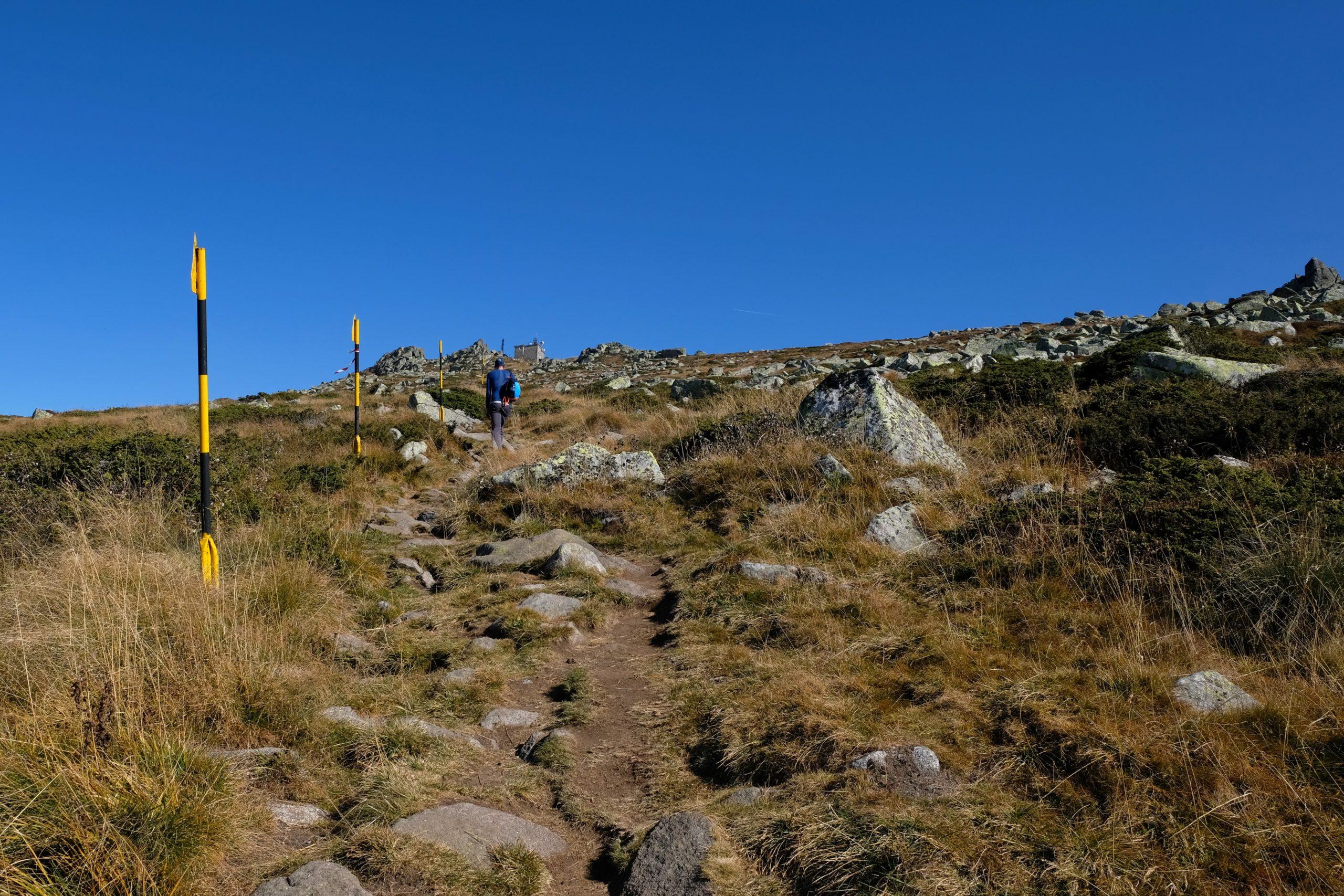 Cestou ze Samary zpět na Černi vrch
