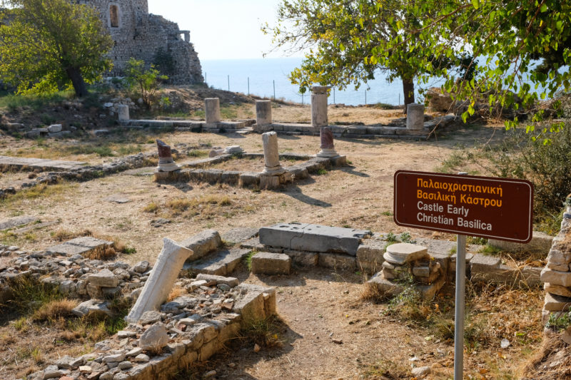 Jedna z archeologických lokalit ve městě